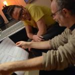 Filippo Cosentino, Jesper Bodilsen, Antonio Zambrini, Andrea Marcelli, recording Session at Tube Studio