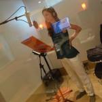 Gaia Mattiuzzi recording session at Tube Recording Studio.