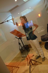 Gaia Mattiuzzi recording session at Tube Recording Studio.