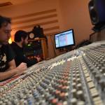 Recording Tiziano Ruggeri Nonet @ Tube Studio