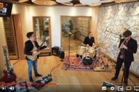 25 minutes, live session at Tube Recording Studio – Il Gioco